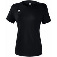 Erima Teamsport Functioneel T-Shirt Dames - Zwart