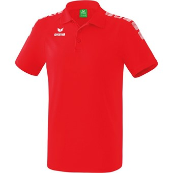 Picture of Erima Essential 5-C Polo - Rood / Wit