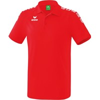 Erima Essential 5-C Polo - Rood / Wit