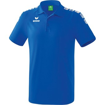 Picture of Erima Essential 5-C Polo Kinderen - New Royal / Wit