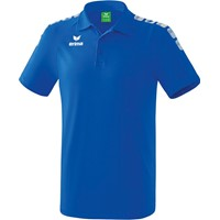 Erima Essential 5-C Polo Kinderen - New Royal / Wit