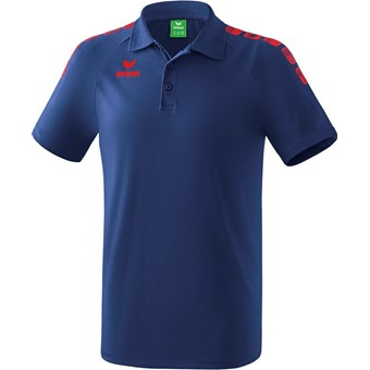 Picture of Erima Essential 5-C Polo Kinderen - New Navy / Rood