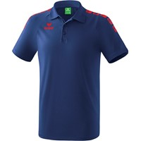 Erima Essential 5-C Polo Kinderen - New Navy / Rood