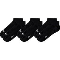 Erima 3 Paar Sneakersokken - Zwart