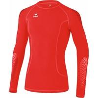Erima Elemental Longsleeve Shirt Lange Mouw - Rood