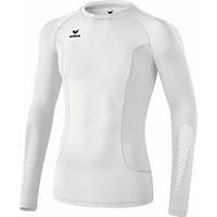 Erima Elemental Longsleeve Shirt Lange Mouw - Wit