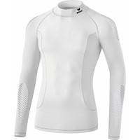 Erima Elemental Longsleeve Shirt Opstaande Kraag Kinderen - Wit