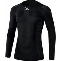 Erima Functional Longsleeve Shirt Lange Mouw - Zwart