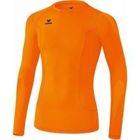 Erima Elemental Longsleeve Shirt Lange Mouw - Oranje