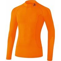 Erima Elemental Longsleeve Shirt Opstaande Kraag - Oranje