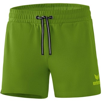 Picture of Erima Essential Sweatshort Dames - Twist Of Lime / Lime Pop