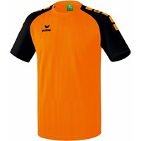 Erima Tanaro 2.0 Shirt Korte Mouw - Oranje / Zwart