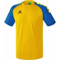 Erima Tanaro 2.0 Shirt Korte Mouw - Geel / New Royal