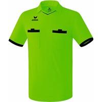 Erima Saragossa Scheidsrechtersshirt Korte Mouw - Green Gecco / Zwart