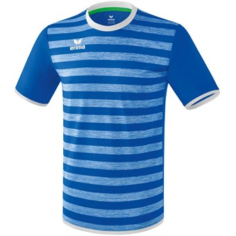 Picture of Erima Barcelona Shirt Korte Mouw - New Royal / Wit