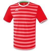 Erima Barcelona Shirt Korte Mouw - Rood / Wit
