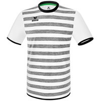 Erima Barcelona Shirt Korte Mouw - Wit / Zwart