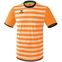Erima Barcelona Shirt Korte Mouw - Neon Oranje / Zwart