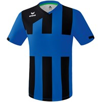Erima Siena 3.0 Shirt Korte Mouw - New Royal / Zwart