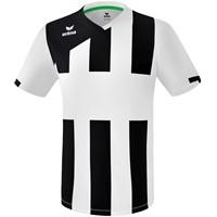 Erima Siena 3.0 Shirt Korte Mouw - Wit / Zwart