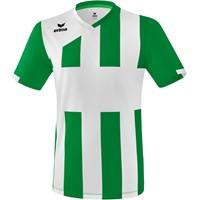 Erima Siena 3.0 Shirt Korte Mouw - Smaragd / Wit