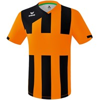 Erima Siena 3.0 Shirt Korte Mouw - Oranje / Zwart