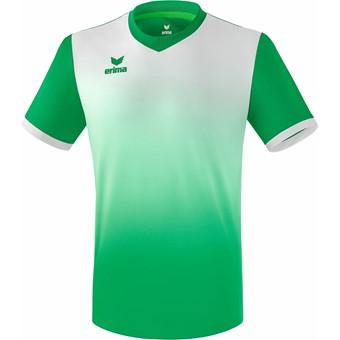 Picture of Erima Leeds Shirt Korte Mouw Kinderen - Smaragd / Wit