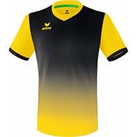 Erima Leeds Shirt Korte Mouw - Geel / Zwart
