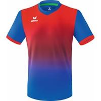Erima Leeds Shirt Korte Mouw - New Royal / Rood