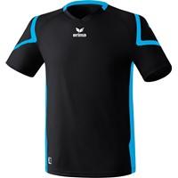 Erima Razor 2.0 Shirt Korte Mouw - Zwart / Curacao