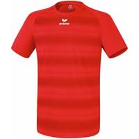 Erima Santos Shirt Korte Mouw - Rood