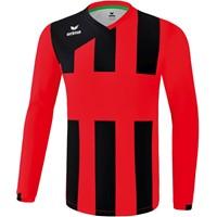 Erima Siena 3.0 Voetbalshirt Lange Mouw - Rood / Zwart