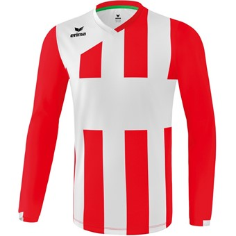 Picture of Erima Siena 3.0 Voetbalshirt Lange Mouw - Rood / Wit