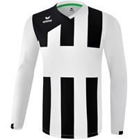 Erima Siena 3.0 Voetbalshirt Lange Mouw - Wit / Zwart