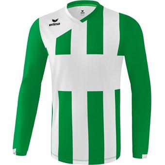 Picture of Erima Siena 3.0 Voetbalshirt Lange Mouw - Smaragd / Wit