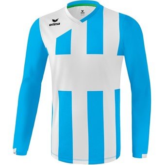 Picture of Erima Siena 3.0 Voetbalshirt Lange Mouw - Curacao / Wit