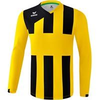 Erima Siena 3.0 Voetbalshirt Lange Mouw - Geel / Zwart