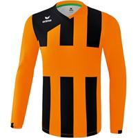 Erima Siena 3.0 Voetbalshirt Lange Mouw - Oranje / Zwart