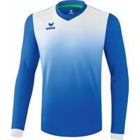 Erima Leeds Voetbalshirt Lange Mouw - New Royal / Wit
