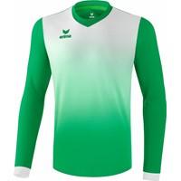 Erima Leeds Voetbalshirt Lange Mouw - Smaragd / Wit