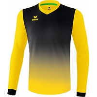 Erima Leeds Voetbalshirt Lange Mouw - Geel / Zwart