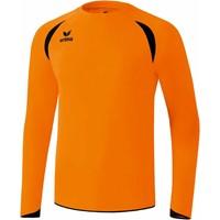 Erima Tanaro Voetbalshirt Lange Mouw - Oranje / Zwart