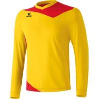 Erima Glasgow Voetbalshirt Lange Mouw - Geel / Rood