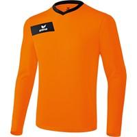 Erima Porto Voetbalshirt Lange Mouw - Oranje / Zwart