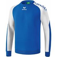 Erima Graffic 5-C Katoenen Sweatshirt Kinderen - New Royal / Wit