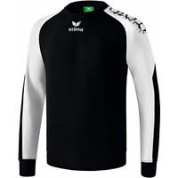 Erima Graffic 5-C Katoenen Sweatshirt - Zwart / Wit