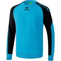 Erima Graffic 5-C Katoenen Sweatshirt - Curacao / Zwart