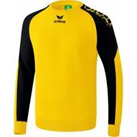 Erima Graffic 5-C Katoenen Sweatshirt Kinderen - Geel / Zwart