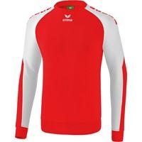 Erima Essential 5-C Sweatshirt Kinderen - Rood / Wit