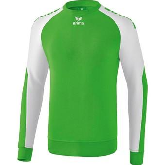 Picture of Erima Essential 5-C Sweatshirt - Green / Wit